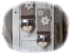 Deko-Objekte - Wanddeko *2er Set* - ein Designerstück von Flora89 bei DaWanda