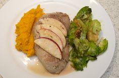The Three Bite Rule - Maple Glazed Pork Chops