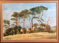 Elderton Dorset Superb Signed Landscape Watercolour Painting by E M Dobson in Art, Contemporary Paintings, Traditional | eBay