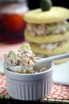 Olives for Dinner | Recipes for the Ethical Vegan: Vegan Tuna Salad (Hearts of Palm again!  Yum!  Be sure to try their Faux Crab Cakes, and the Beer Battered hearts of Palm too!)