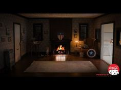 Captain America's Brooklyn Apartment Fireside Video in 4K - YouTube