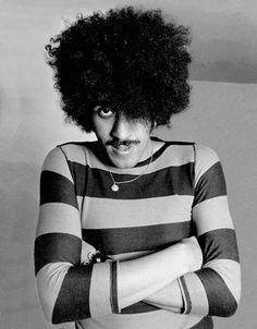 Phil Lynott of Thin Lizzy.