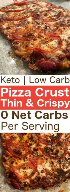 Keto Pizza Recipe: Zero Carb Pizza Crust With Only 3 Ingredients! No Carbs Keto Pizza Crust