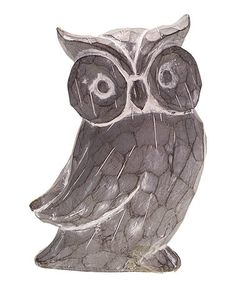 Another great find on #zulily! Whooo Do You Think You Are Owl Figurine #zulilyfinds