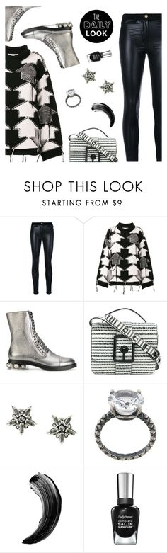 """The daily look"" by dressedbyrose ❤ liked on Polyvore featuring Versace, STELLA McCARTNEY, Casadei, Rebecca Minkoff, Radà and Bottega Veneta"