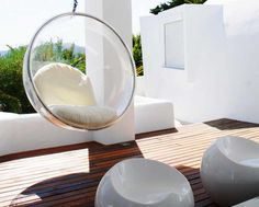 Fauteuil De Jardin Suspendu En 55 Idées De Meubles Design. Bubble ChairBall  ...