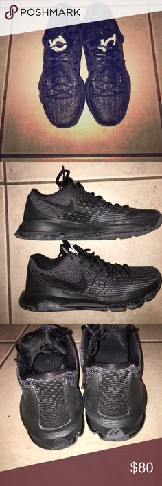 Nike KD 8s Pretty much brand new, worn only 5 times. I bought them too small. I'll take any trades new or pretty close to new like these. If you want more pics my #8636708727 😁 Nike Shoes Athletic Shoes