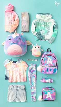 Looks to dye for! Looks to dye for! Cute Girl Outfits, Kids Outfits Girls, Cute Outfits For Kids, Cute Girls, Little Girls, For Girls, Clothes For Kids, Cute Outfit Ideas For School, Justice Accessories