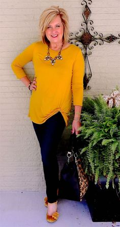 50 IS NOT OLD | A TOP WITH A TWIST | Side Twist Top | Tunic | Fall Transition | Fashion over 40 for the everyday woman