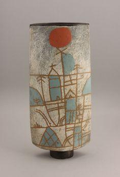 John Maltby (British, b.1936) A tall Vessel, circa 1995
