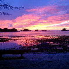 Alaska literally has THE most beautiful sunsets of anywhere in the world
