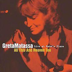 Greta Matassa - All This and Heaven Too-Live at Bake', Red