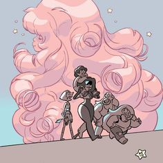 Rose Quartz feels... It hurts... SO MUCH!!! 0,~,0