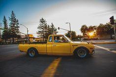 CA Slammed 1978 datsun 620 king cab 5 speed - StanceWorks