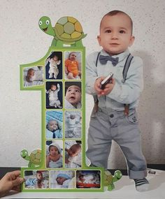 First Birthday Crafts, Birthday Photo Banner, Boys 1st Birthday Party Ideas, 1st Birthday Photoshoot, First Birthday Party Decorations, First Birthday Pictures, First Birthday Banners, Baby Boy Birthday, First Birthday Parties