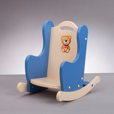 Mecedora infantil mecedora niño pequeño eje por SouthBendWoodworks Wood Projects That Sell, Wooden Projects, Wood Crafts, Cute Furniture, Doll Beds, Wood Toys, Rocking Chair, Kids Toys, Sandbox