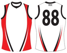 Viper Footy Jumper Add You Club And Sponsor Logos Change Colour To Suit