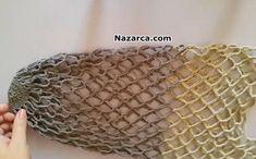 saglam-file-orgu-pazar-cantasi Filing, Diy And Crafts, Knitting, Crochet, Bags, Crochet Pouch, Tutorials, Fabric Purses, Satchel Handbags
