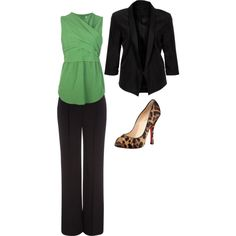 buisness outfit by bubles8615 on Polyvore featuring Carven, Gestuz, Wallis and Christian Louboutin