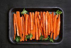 Ovnsbakte gulrøtter: