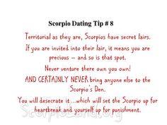 dating a scorpio woman advice