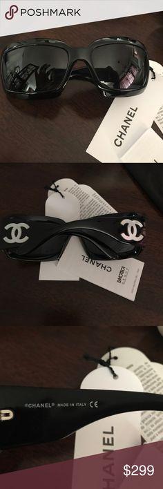 Chanel sunglasses Chanel black with Chanel pearl symbols CHANEL Accessories Sunglasses