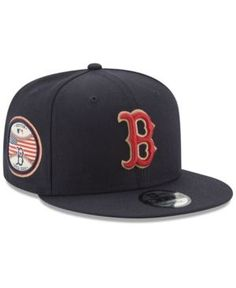 28f849ccc2671e New Era Boston Red Sox Full Americana Patch 9FIFTY Snapback Cap - Blue  Adjustable Philadelphia Phillies