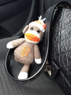 Monkey in the car