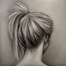Afbeeldingsresultaat voor girl drawing back