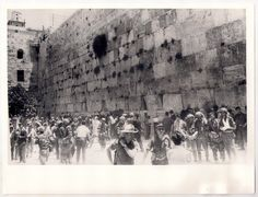 6 days war -  Soldiers By The Wailing Wall.