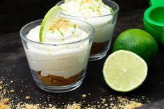 """no bake"" key lime cheesecake på 5 minuter Creme Brulee Cheesecake, Key Lime Cheesecake, No Bake Desserts, Delicious Desserts, Dessert Recipes, New Years Eve Food, Swedish Recipes, Recipes From Heaven, Food Inspiration"