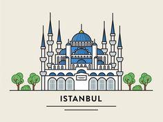 Istanbul by FireArt Studio