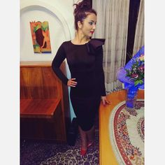 #black #elegant #pencildress #mihradesigndress #fashiondaily
