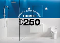 Unwrap A Better Bathroom For Under $250! Http://www.build.