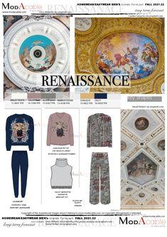 Trend Forecast 2018, Fashion Forecasting, Mens Trends, Delft, Fashion Flats, Color Trends, Nightwear, Pop Up, Renaissance