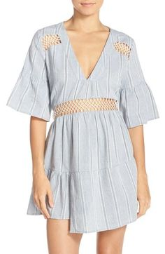 ed064ae32e1b4 SUBOO Cover-Up Dress Desert Muse Blue $215 Pick Up or Ships Free BUY HERE