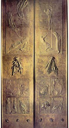Giacomo MANZU     Doors of Death   ,    San Pietro  , ROMA