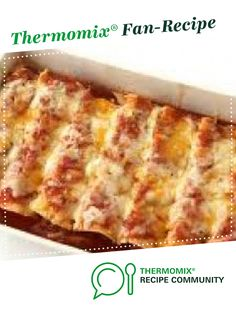Recipe Chicken Enchiladas by Angela de Gunst, learn to make this recipe easily in your kitchen machine and discover other Thermomix recipes in Main dishes - meat. Enchilada Recipes, Meat Recipes, Chicken Recipes, Dinner Recipes, Cooking Recipes, Dinner Ideas, Recipies, Family Meal Planning, Family Meals
