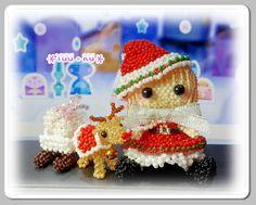*YUU。KU*串珠+手工DIY: 聖誕女孩