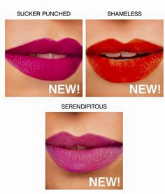 New Younique Lipstains!! Available exclusively with January 2017 Mthly Kudos! https://www.youniqueproducts.com/MekennaYohe/party/5749540/view