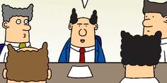 For National Boss Day, Dilbert creator Scott Adams shares his favorite Pointy-Haired Boss comic strips.