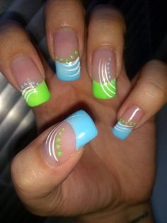 Spring by TashiraNails - Nail Art Gallery nailartgallery.nailsmag.com by Nails Magazine www.nailsmag.com #nailart