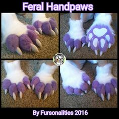 They have that slightly elongated length of a human hand but have the risen knuckles and position of an actual wolf paw. Will definitely reference these as the type of paws I want when I get my fursuit👍 Fursuit Paws, Fursuit Head, Cosplay Tutorial, Cosplay Diy, Dragon Fursuit, Fursuit Tutorial, Wolf Paw, Anthro Furry, Costumes