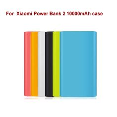 High quality  Xiaomi Power Bank 2 10000mAh case 100% Fit For mi 2nd Generation  Power bank cover silicone case gel rubber case