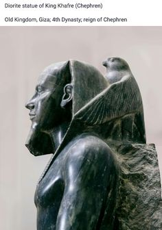a description of the statue of king chephren by an unknown author Unknown sons didoufri kaouab chephren djedehfer the sphinx was built by king chephren(4th dynasty) builder of the 2nd pyramid of giza and son of king cheops the builder of the great pyramid.