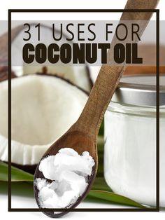 31 Uses for Coconut Oil - HomesteadingandHealth