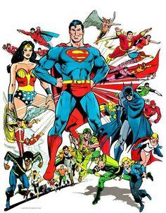 DC Comics Universe by José Luis García López