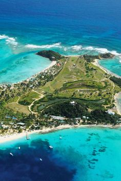 Palm Island Resort is on a private island at the tip of St. Vincent and the Grenadines. #Jetsetter