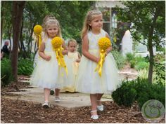 Flower girls LOVE bouquets - they're so much more grown up than baskets. http://www.florafetish.com