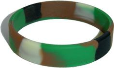 Child Size Camo Wristband for Kid One Camouflage Bracelet SayitBands.com. Save 94 Off!. $0.29. Makes a great gift or party favor. Child size band is approximately 6.9 inches around. Popular camo design. High quality silicone wristband